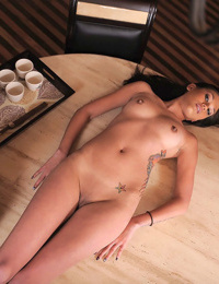 Asian masseuse provides a mixed race couple with threesome delight