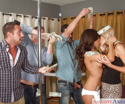 Threesome action with amazing ladies Audrey Show and Brittany Bliss