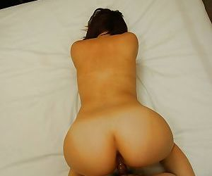 Asian MILF Mari Teramura gets her pussy pleased with sex toys and hard dick