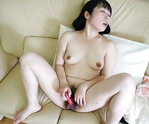 Slutty asian MILF Fumiko Manaka has some cock sucking and fucking fun