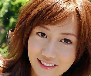 Ravishing asian babe Yuri Seto uncovering her seductive curves