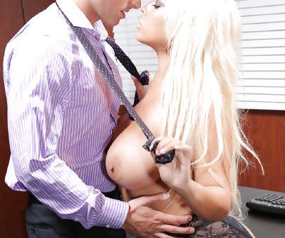 Ravishing latina MILF in fishnets gets shafted for jizz on her massive jugs