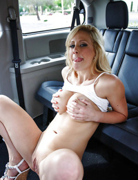 Beautiful cougar milf Cherie Deville is enjoying a threesome