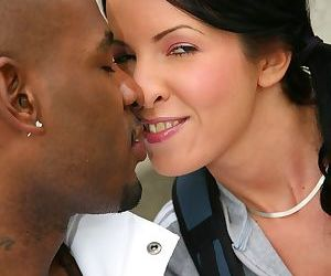 Mom Jordan Kingsley having an interracial 3some with her daughter tina Dove