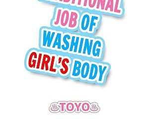 Traditional Job of Washing Girls Body - part 5