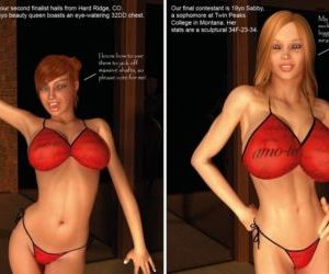 3D- Miss Teen Hottie Competition