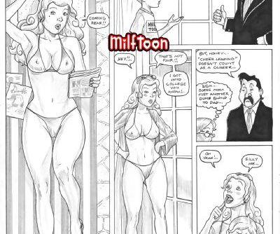 Milftoon- Dumb Blond