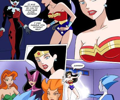 Justice League-Princess in peril