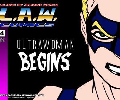 L.A.W.Comix- League Of Amazing Women 3-4