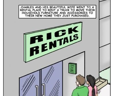 illustrated interracial- Rent