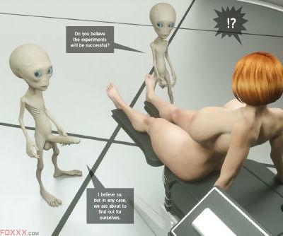 Thefoxxx- Alien abduction of Batbabe