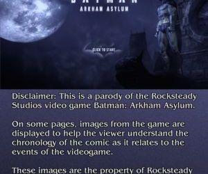 Justice Hentai- Arkham Asylum