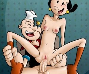 Drawn Sex- Popeye and Olive Oyl