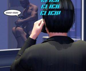 BlacknWhite-3D Busty Detective