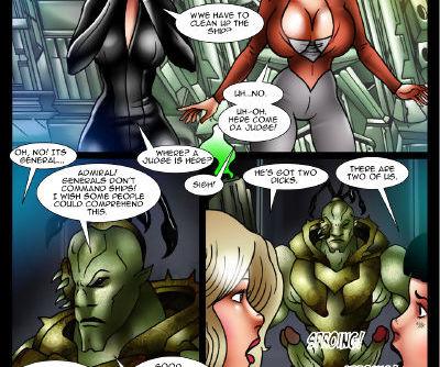Monsterbabe Central- Galaxy Trek