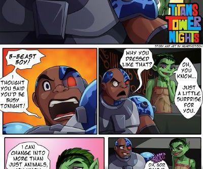Teen Titans- Titans Tower Nights