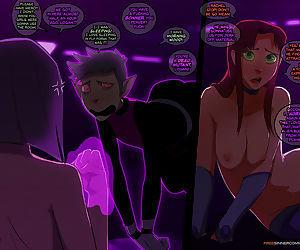 - Raven x Starfire