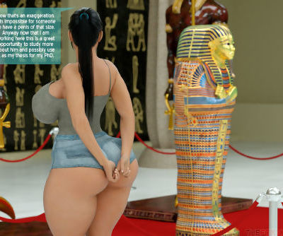 The Foxxx- A Horny Mummy In The Museum