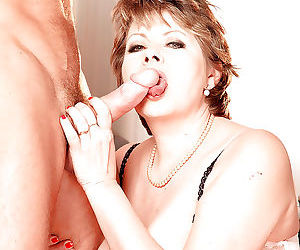 Dirty mature donna marie hot sex in heavy modes with younger step son - part 1803