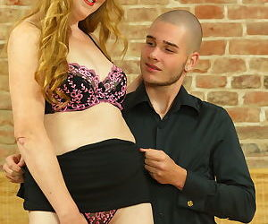 Horny housewife fooling around with her toy boy - part 1972