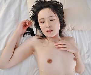 Slim asian MILF gives a nooky and gets her trimmed pussy boned-up - part 2