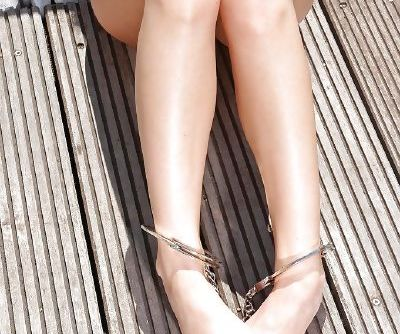 Enslaved brunette Anita Berlusconi goes nasty in a dirty BDSM fetish action