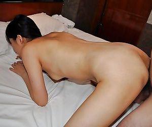 Mayu Yamano gives a blowjob with ball licking and gets fucked tough