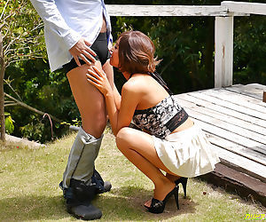 Beautiful japanese girl loves the cock - part 4109