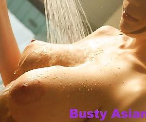 Huge tits japanese model julia posing her natural big breasts - part 4417