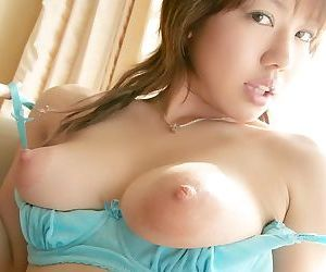 Busty asian model chise poses in bikini shows body - part 4848