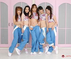 Asian jpop singers get completely naked - part 445