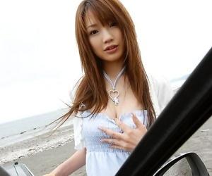 Japanese kurara tachibana in hot bikini shows ass - part 3670