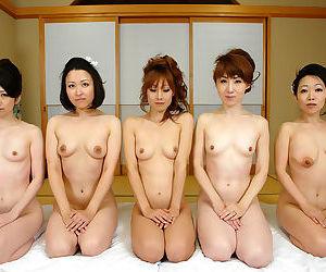 Hot japanese av girls in group fuck orgy - part 4412