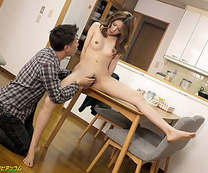 Japanese student drilled on the desk - part 4242