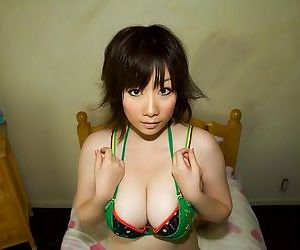 Busty japan model hanno nono shows ass and titties - part 3803