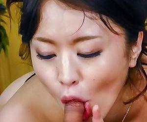 Japanese kaede niiyama sucks two cocks for facials - part 719