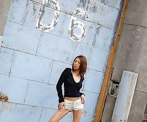 Japanese jun kusanagi has perfect body showing ass - part 3802