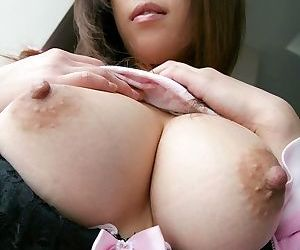 Busty japanese babe haduki showin pussy in panties - part 3769