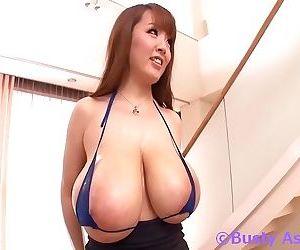 Busty oiled japanese girl hitomitanaka sucking hard cock - part 4213