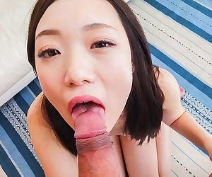 Japanese cutie mao sena sucking a cock till facial - part 786