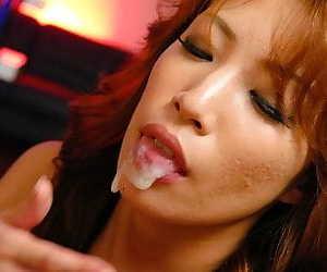 Naughty asian aya sakuraba sucks cocks till facial - part 846