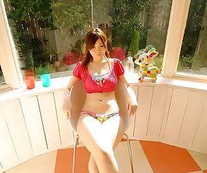 Busty japanese idol nami ogawa poses showing pussy - part 3861