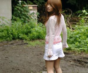 Japanese girl outside - part 3533