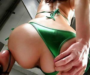 Asian wakako hujimori shows oiled ass and hot tits - part 3794