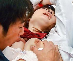 Asian schoolgirl maya kawamura sucking and fucking - part 1050