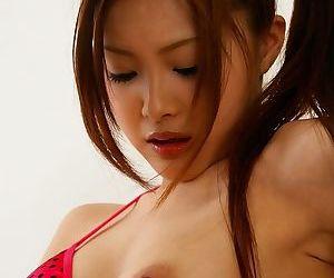 Asian suzuka ishikawa enjoys nice toys and fingers - part 359