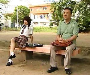 Kinky jap girl fucked in public - part 2979