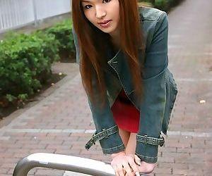 Redhead japanese teen mai hanano posing shows tits - part 3858