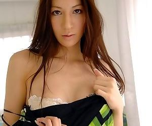 Busty asian anari suzuki posing shows her hot tits - part 1698