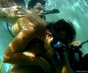 Underwater blowjob and fucking with this horny asian priva - part 4657